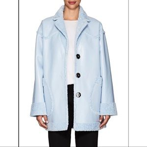 Opening ceremony reversible coat, baby blue, size0